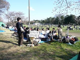 2012年お花見2日目